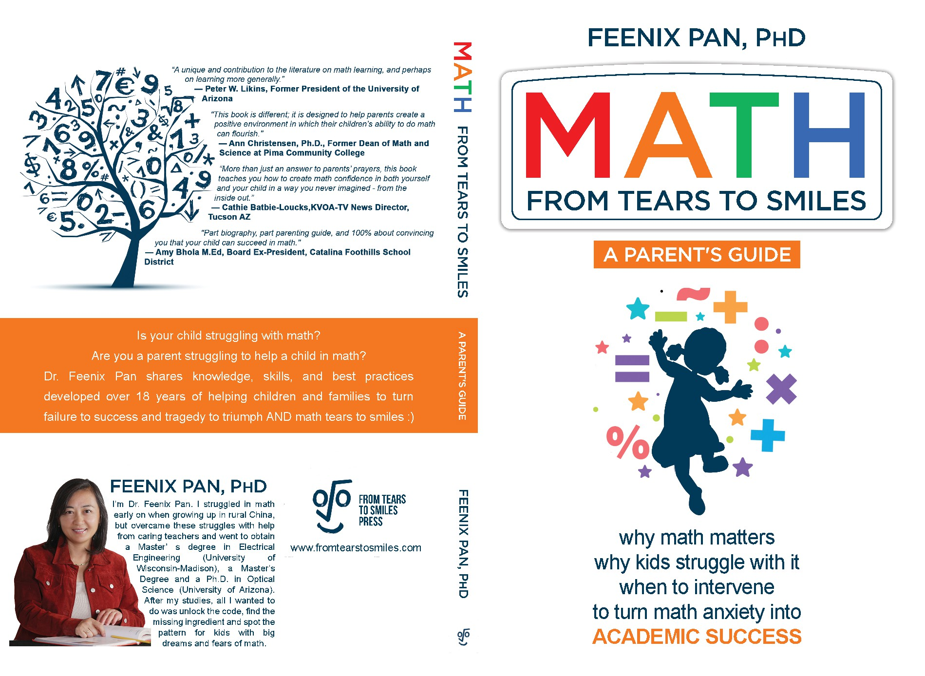 Book cover that speaks to moms concerned about their children's math