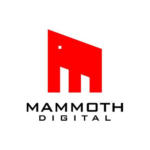 MAMMOTH DIGITAL needs a new logo