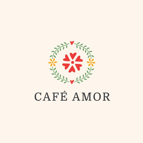 Logo for a mexican cafe