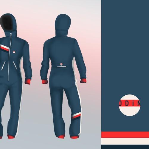 Onesie Snowboard Suit
