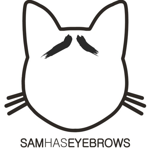 samhaseyebrows contest submission #1