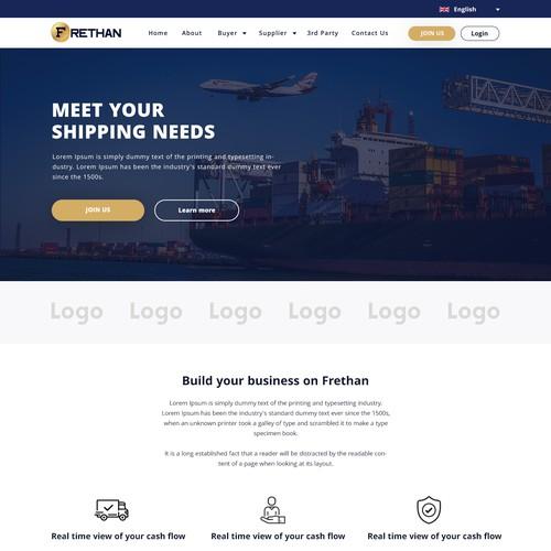 Frethan Mockup Website
