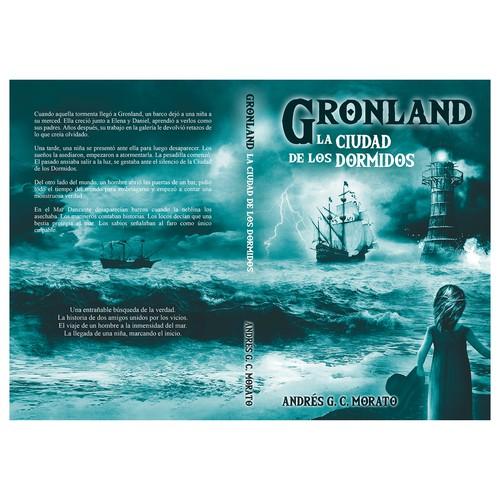 """Book cover for """"Gronland: La Ciudad de los Dormidos"""""""