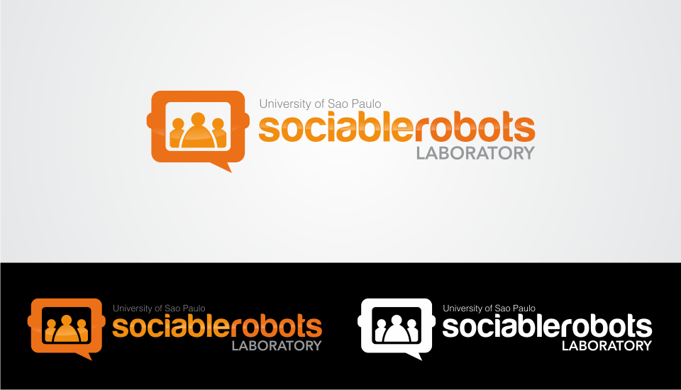laboratory of sociable robots needs a new logo