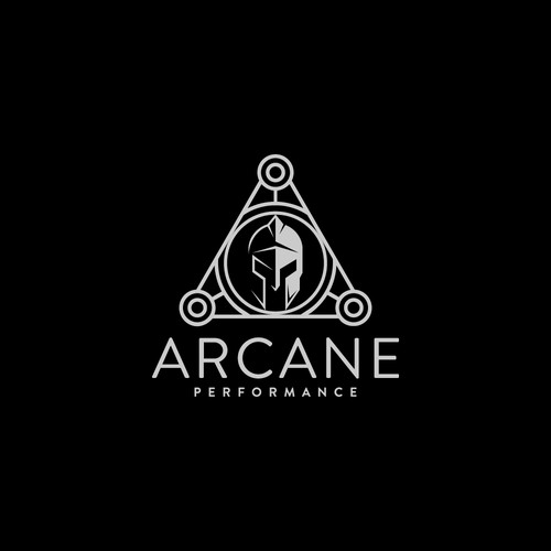 Arcane performance Logo concept
