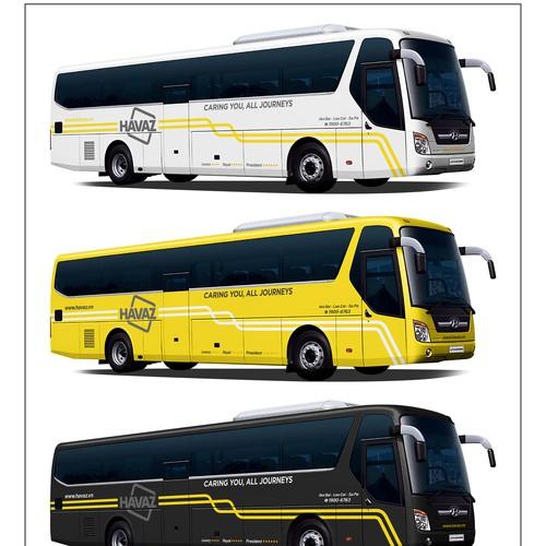 Havaz Bus Wrap