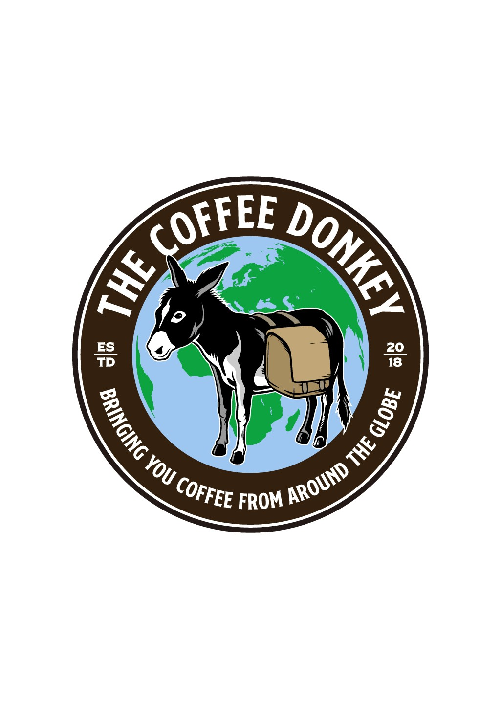 Awesome logo for roasted coffee, The Coffee Donkey