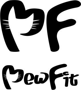 Design a fun and catchy logo for MewFit