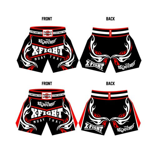 short for x fight muay thai