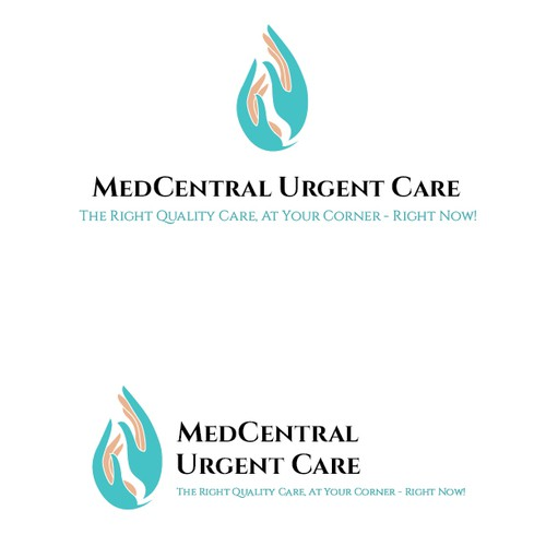 Logo concept for MedCentral Care