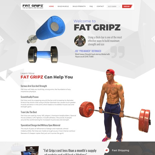 Fitness Brand Product