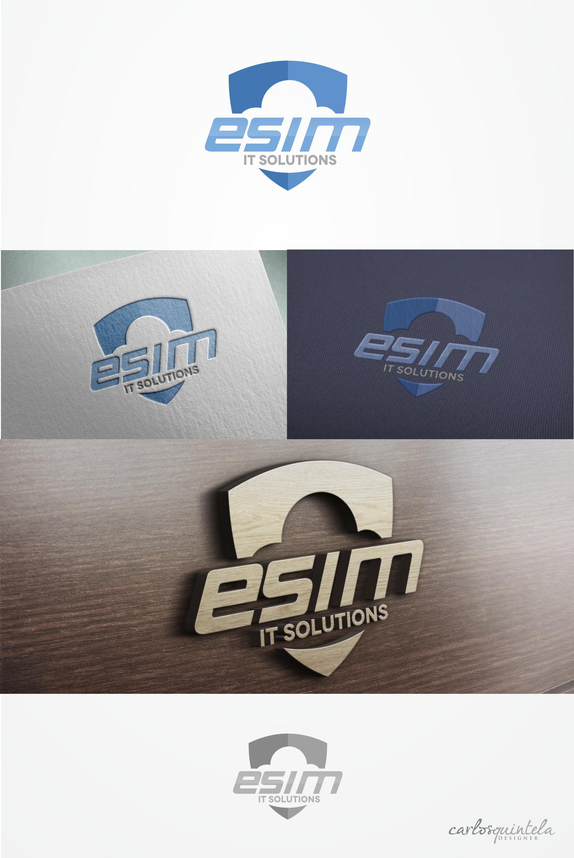 Crie uma logo para uma empresa de prestação de serviços em tecnologia.