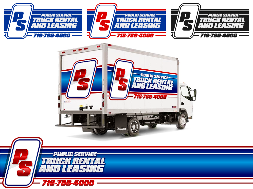 We need a LOGO FACE LIFT for Public Service Truck Renting