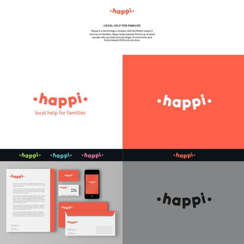 "The ""Happi"" brand needs your awesome design skills"