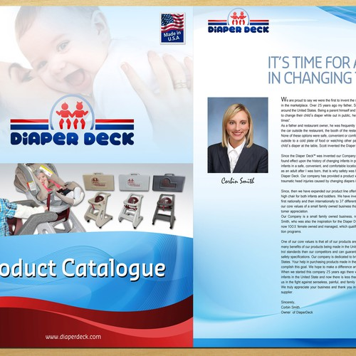 Brochure A4 Size for Diaper Deck
