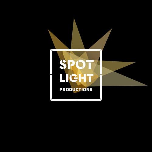 logo for storytelling film company, Spotlight Productions