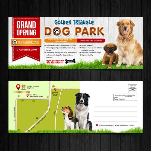 Golden Heights Dog Park Grand Opening