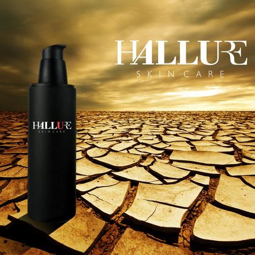 Design a chic logo for Hallure skincare