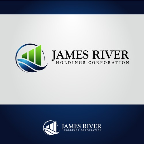 Create the next logo for James River Holdings Corporation