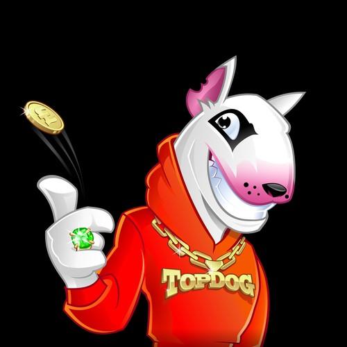 Top Dog mascot