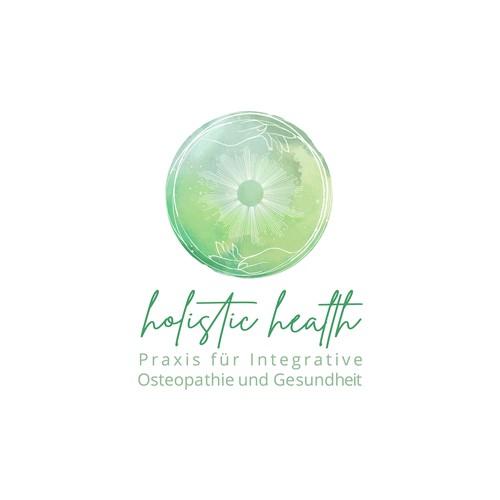 Organic Logo for a Holistic Medicine Practice