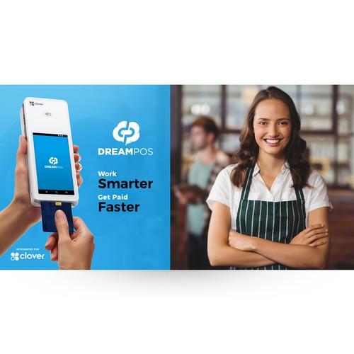 Digital marketing banner for DreamPOS