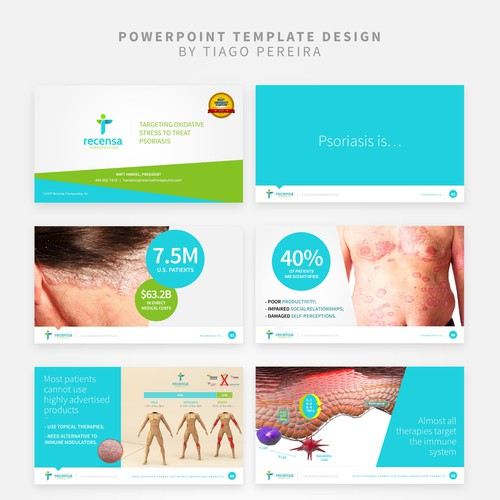 PowerPoint Template Design Concept For Medical & Pharmaceutical Company