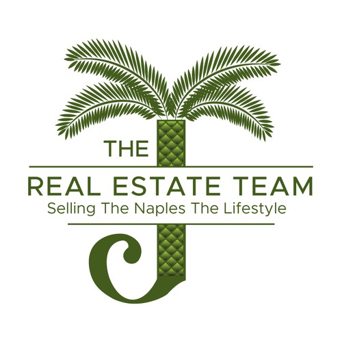 Bold logo for real estates.