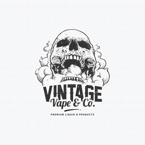 Vintage Logo for Vape Store