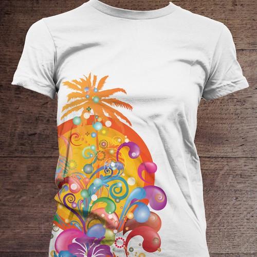 Summer party t shirt