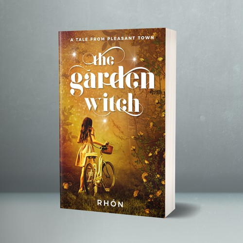Book cover for The Garden Witch