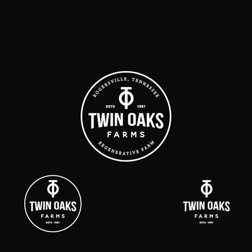 twin oaks farms logo