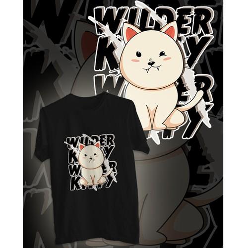 wilderkitty shirt design