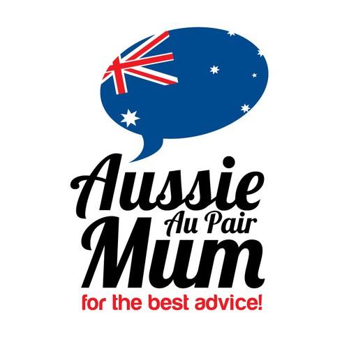 Logo Design for Aussie Au Pair Mum!