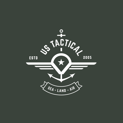 Design a logo for US Tactical Apparel Brand.
