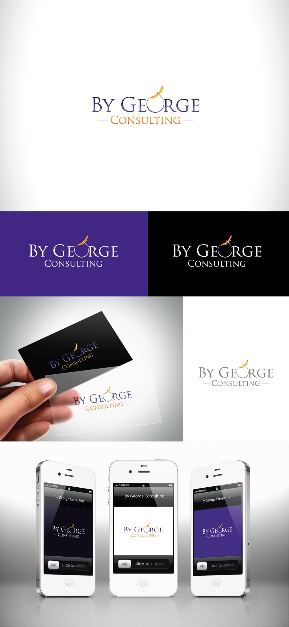 By George Consulting with a new logo