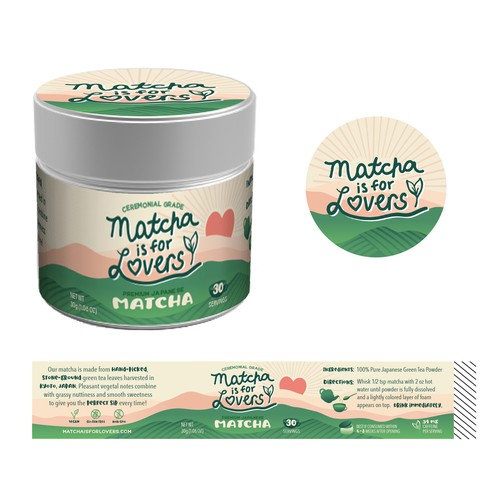 Packaging for Japanese Matcha