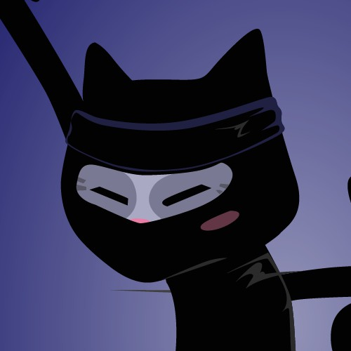 Cat Ninja illustration