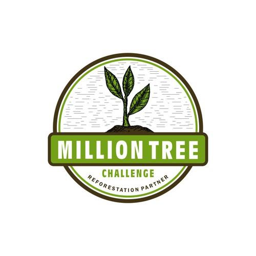Logo Concept for Million Tree