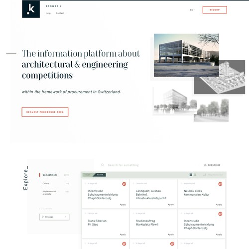 architecture competitions website