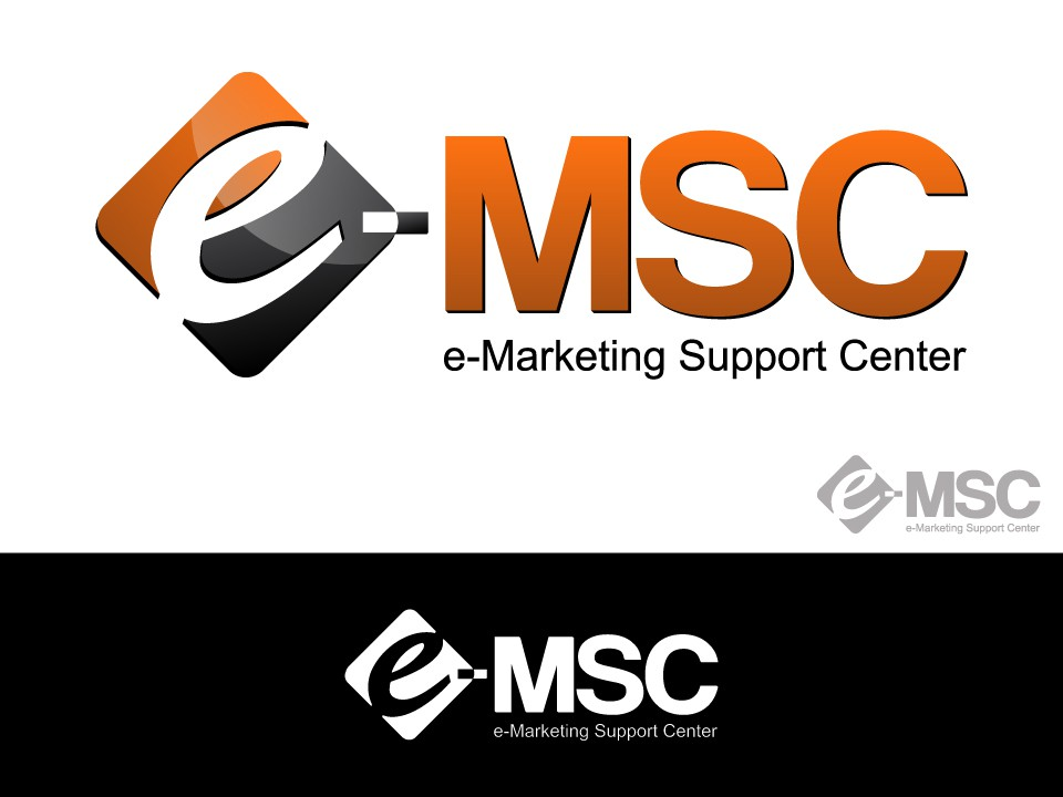 Create a winning logo for the e-Marketing Support Center