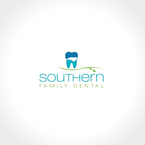 Bold logo for Southern Chic Dental Office