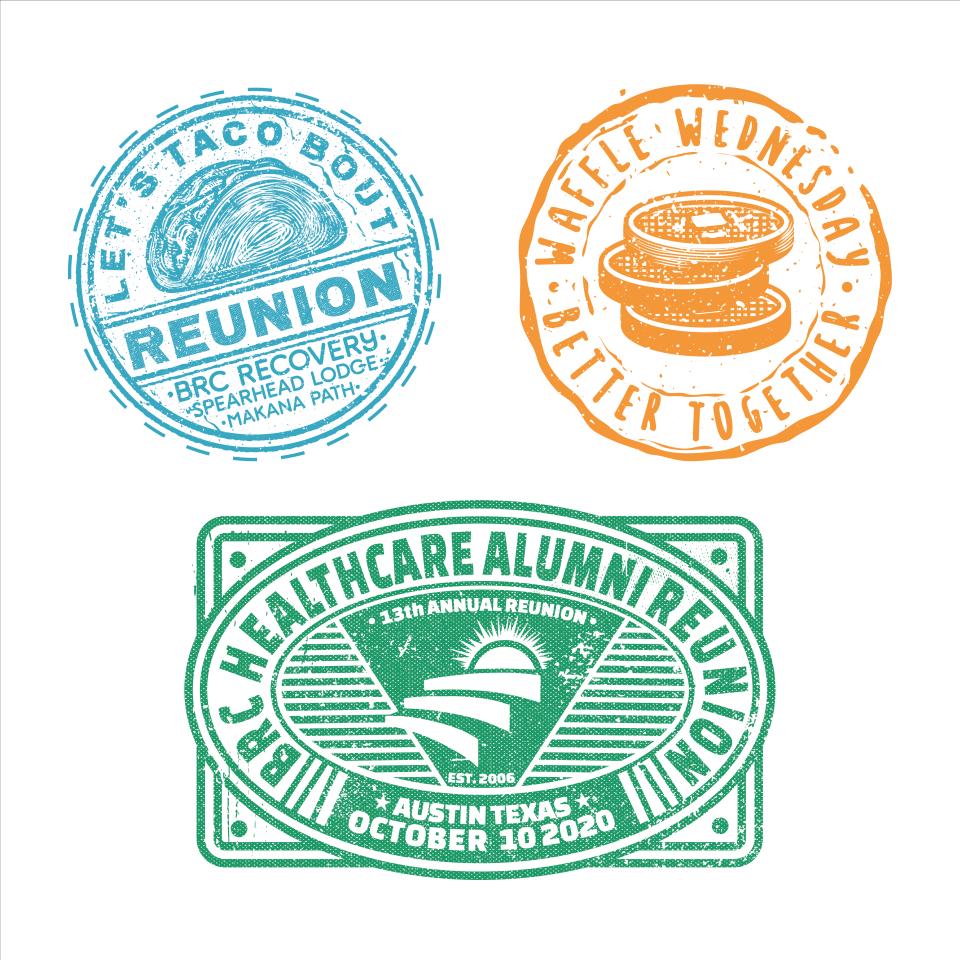 Serval custom travel stamp stickers