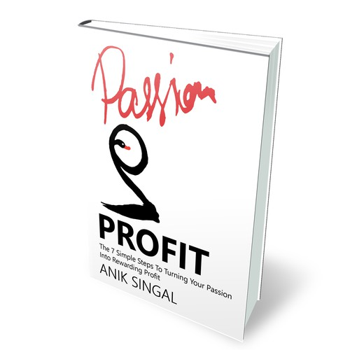 Passion to Profit cover design