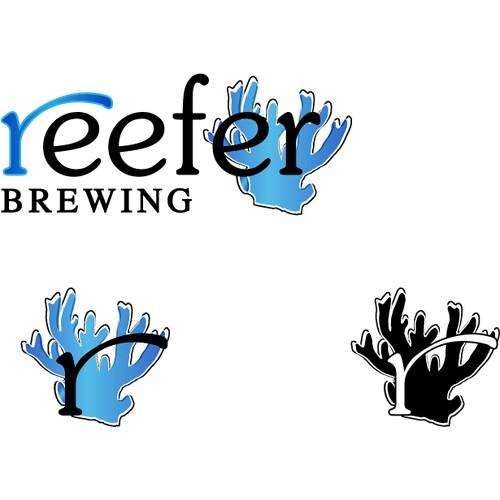 Beach style Logo for Craft Beer Brewing Company