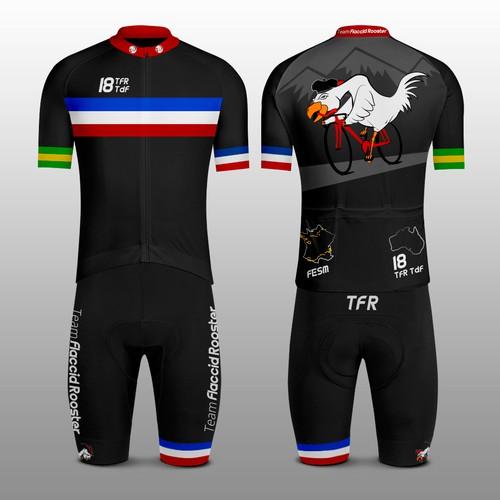 TFR Cycling Kit for Tour de France