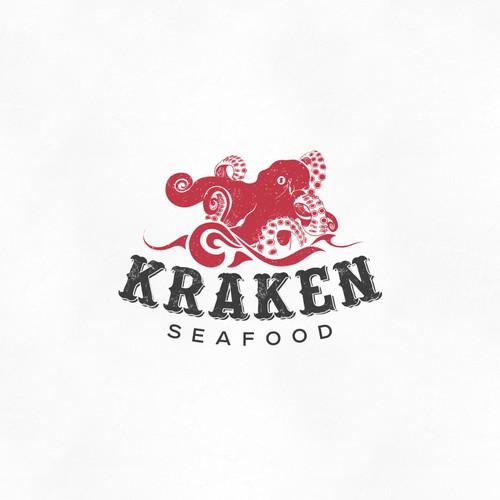 create a seafood brand logo