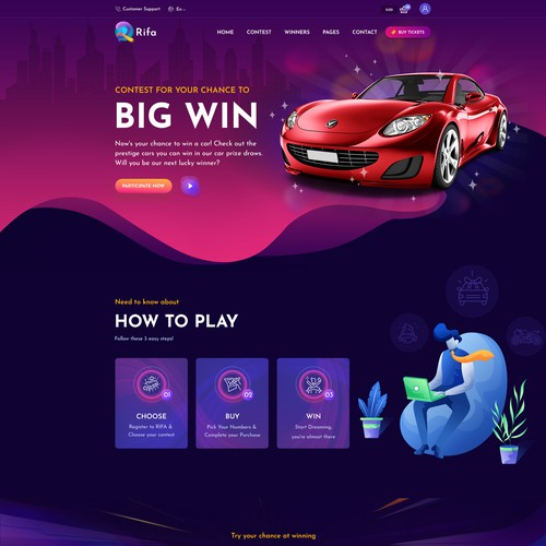 Rifa Lottery Site