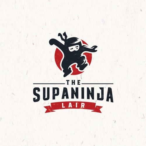 strong logo for The SupaNinja Lair