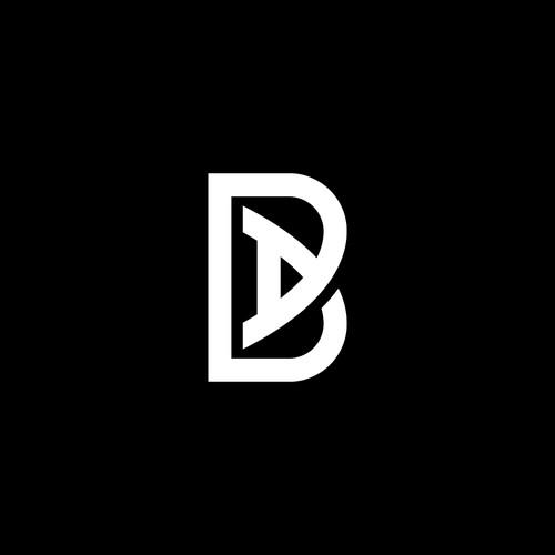 BA initials monogram logo